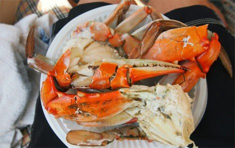 Delightful Barbequed Blue Crab