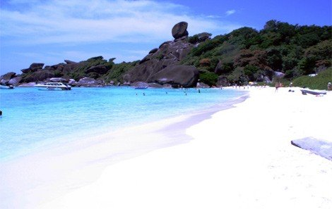 Donald Duck Bay Similan Island