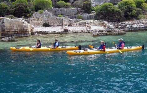 Sea Kayaking at the Sunken City of Kekova