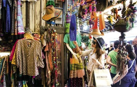 Fashion Section at Chatuchak Weekend Market