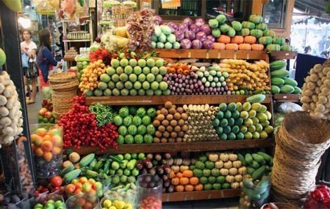 Fruits & Vegetables at Chatuchak Weekend Market