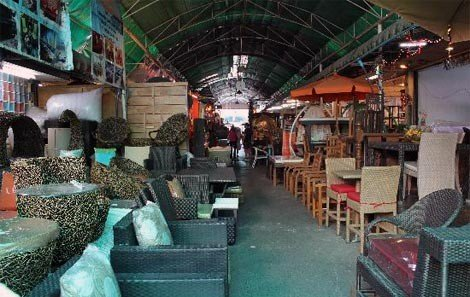 Furniture Section at Chatuchak Weekend Market