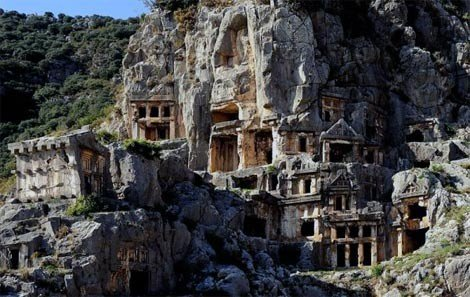 Myra Lycian Tombs