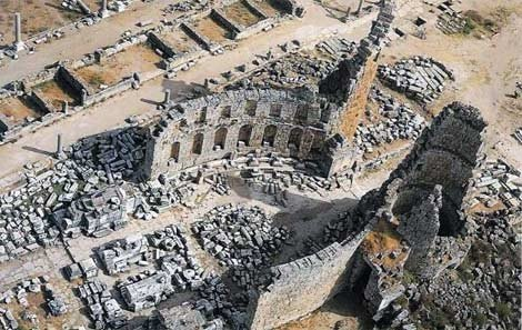 Ancient Ruins of Perge & Aspendos