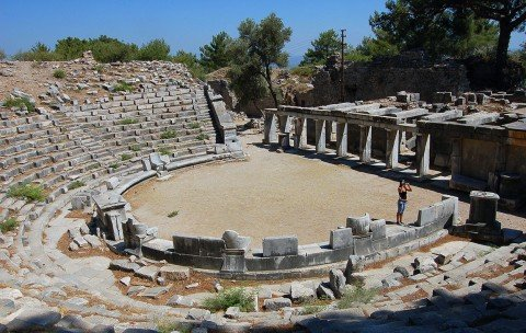 Priene Theater