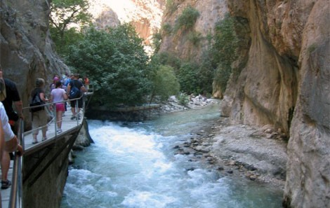 Saklikent Gorge Walking