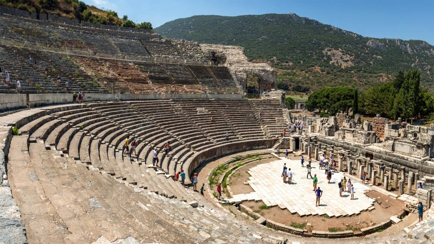 The Great Theatre of Ephesus Turkey