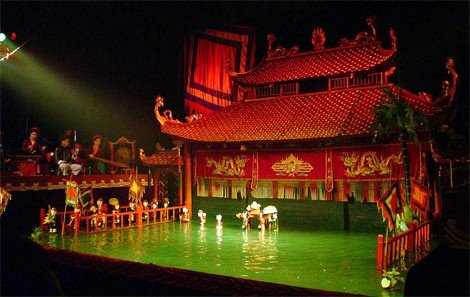 Traditional Vietnamese water puppet shows
